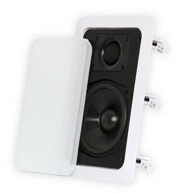 Theater Solutions Contractor 320 W PMPO - Black, White - 55 to 22 8 Ohm - 90 dB Sensitivity