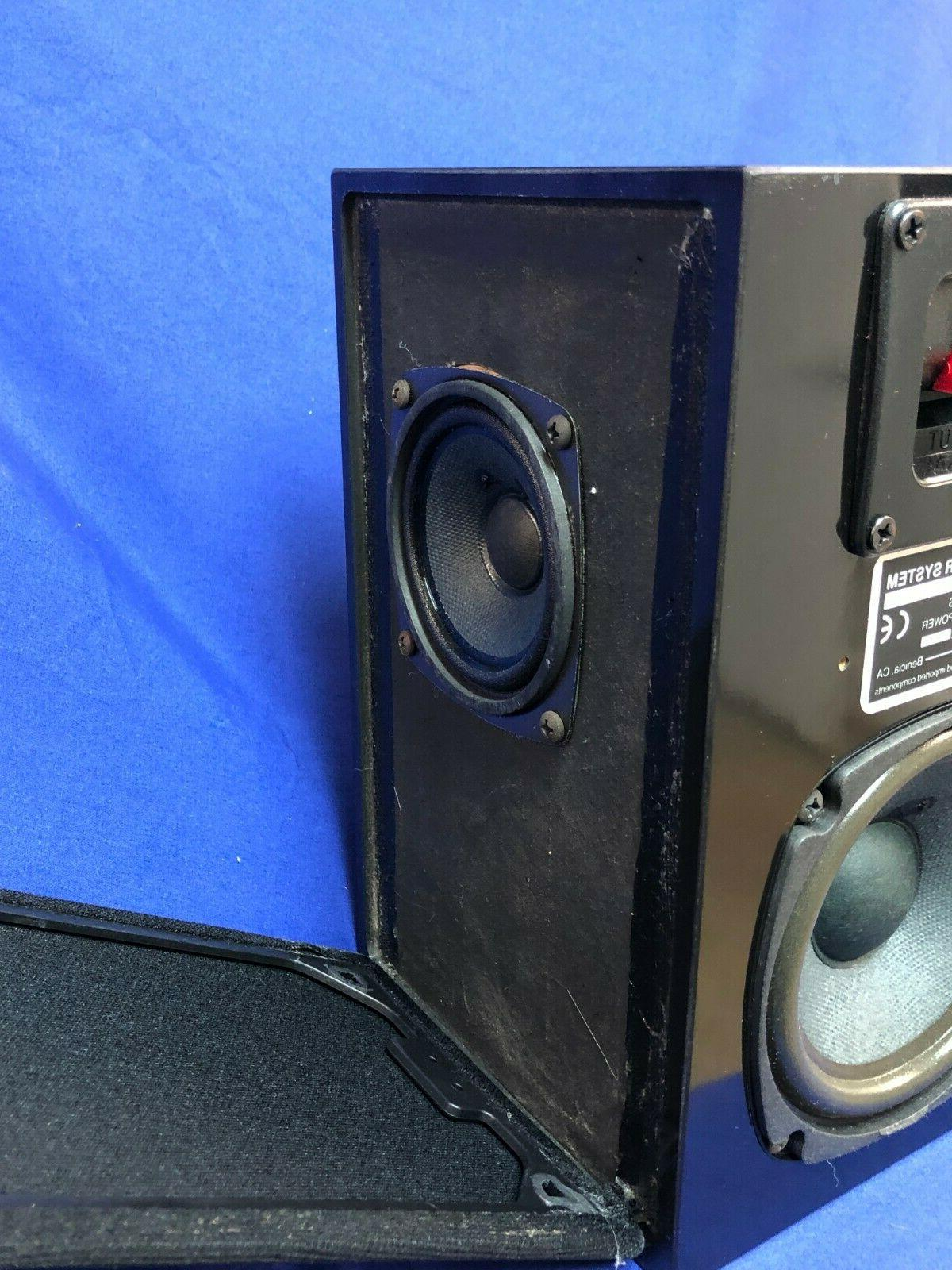 NHT Dipole Speakers 100W Gloss - Brand
