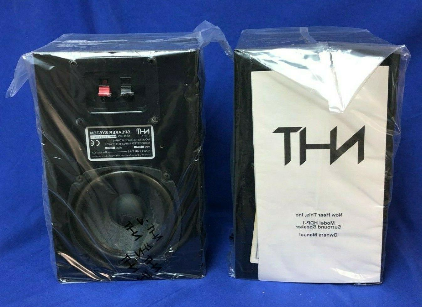 hdp1 pair of dipole surround sound speakers