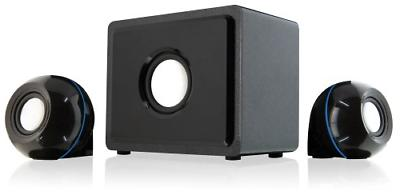 Home Theater Speaker System GPX 2.1 Channel Subwoofer Surrou