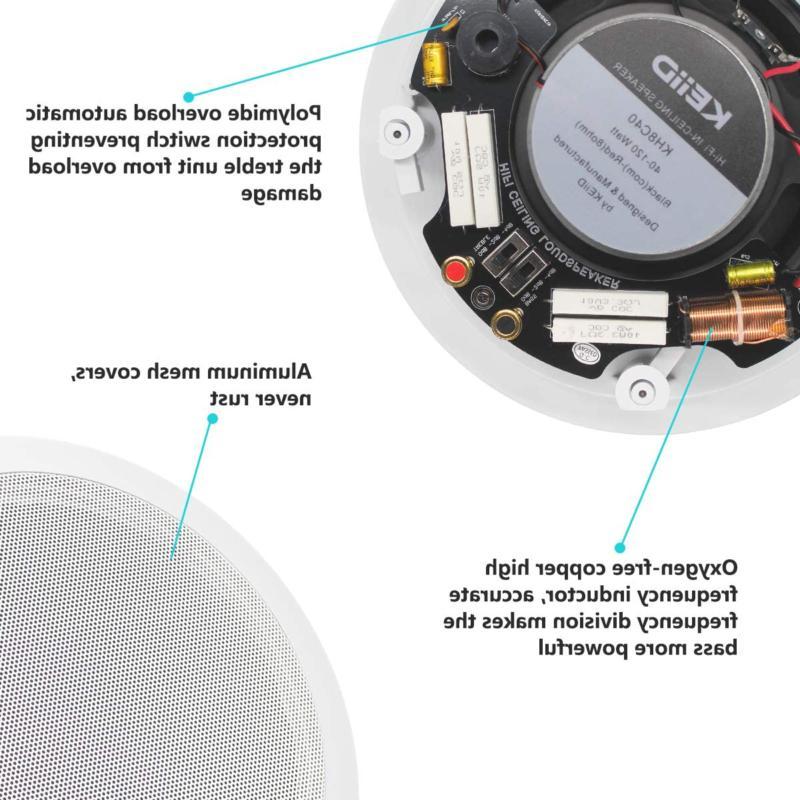 Keiid 8 Inch Hi-Fi Sound
