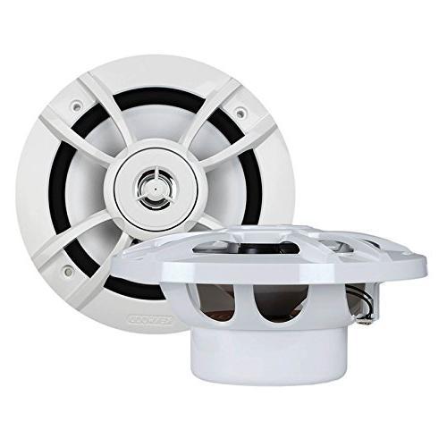 Kicker KMC2 Style Stereo Bundle Speaker Amplifier W/ Wiring + + 50 Wire
