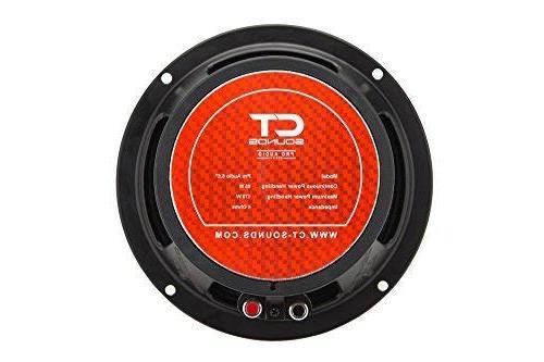 CT 6.5 Pro Midrange Car Speaker 4 Ohm