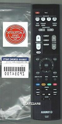 New Yamaha Receiver Remote Control RAV531 RX-V379 RX-V381 HT