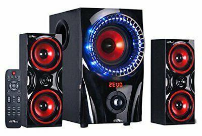 new sound 2 1 channel surround sound