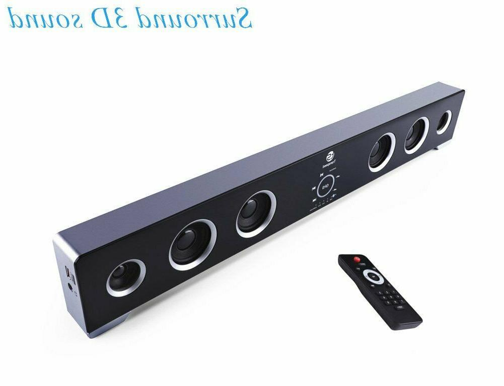 new surround sound bar 40w rms 6