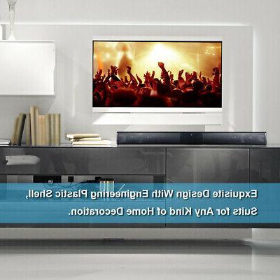 Wireless with 4 Soundbar TV Speaker