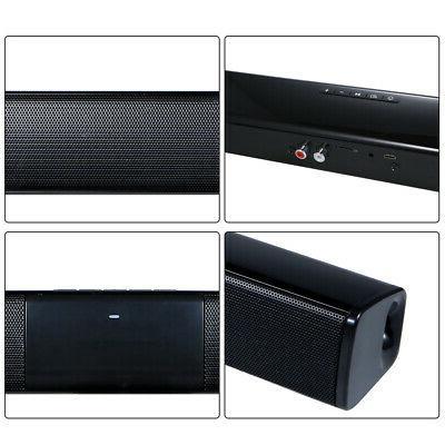 Wireless Bluetooth Music Surround Sound 3D TV Speaker