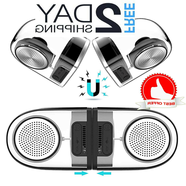 outdoor portable speaker true wireless surround sound