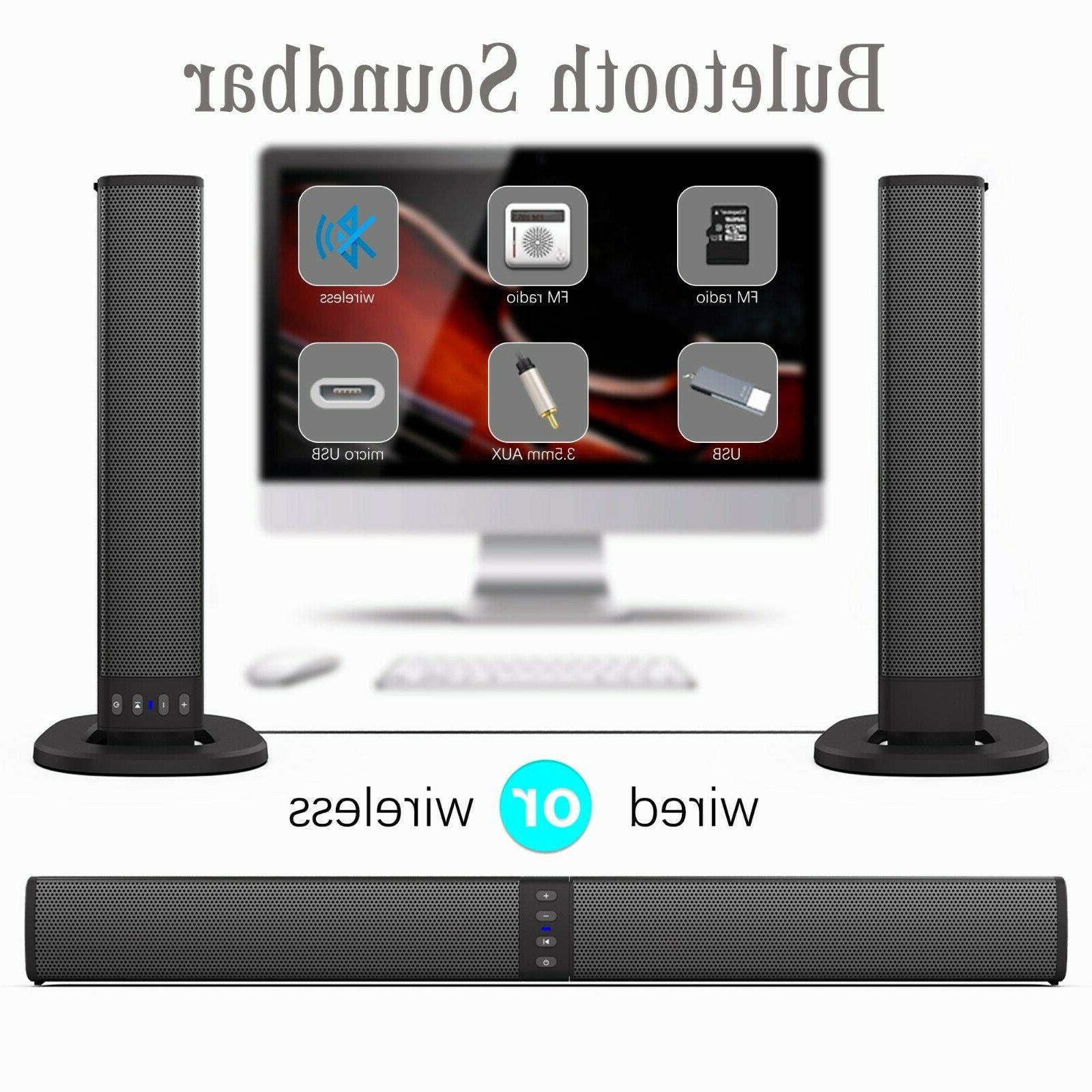 Portable Sound 4 System Wireless Subwoofer TV Theater