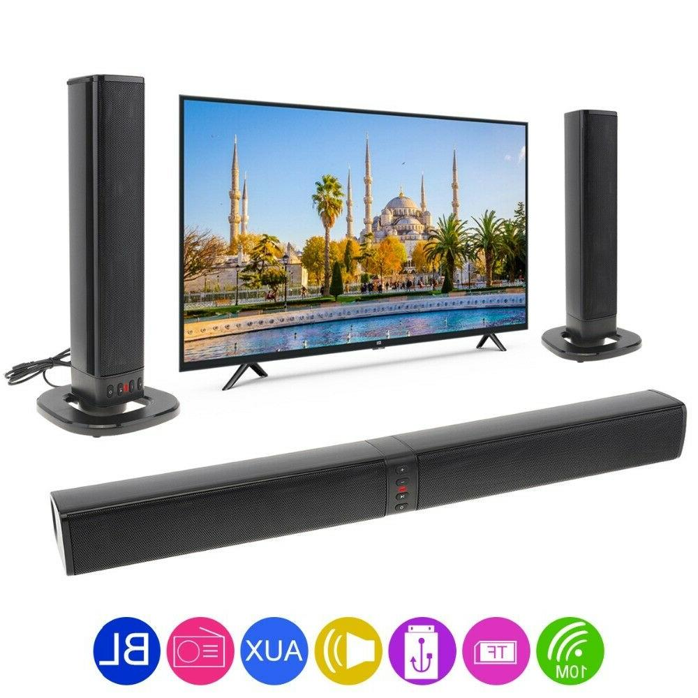 Portable Bar 4 System Wireless Subwoofer TV Home Theater