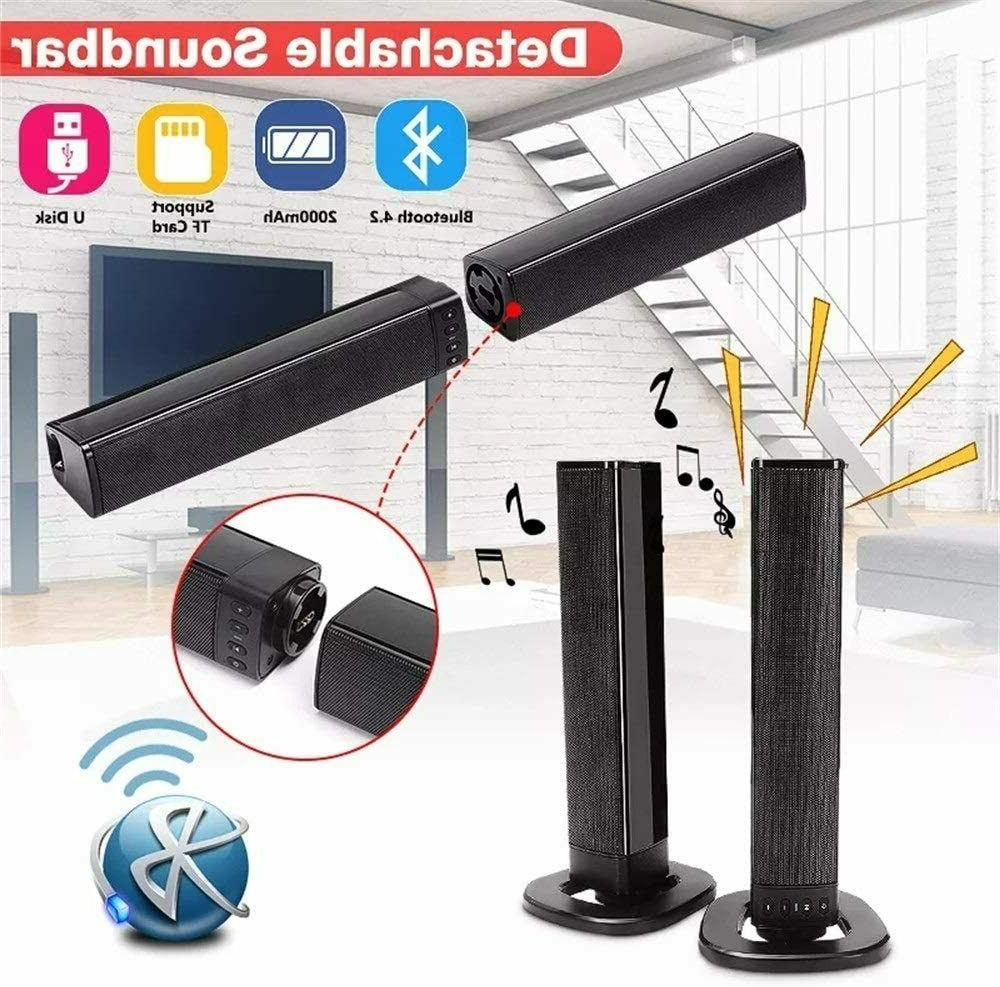 Portable Surround Bar Subwoofer Home Theater
