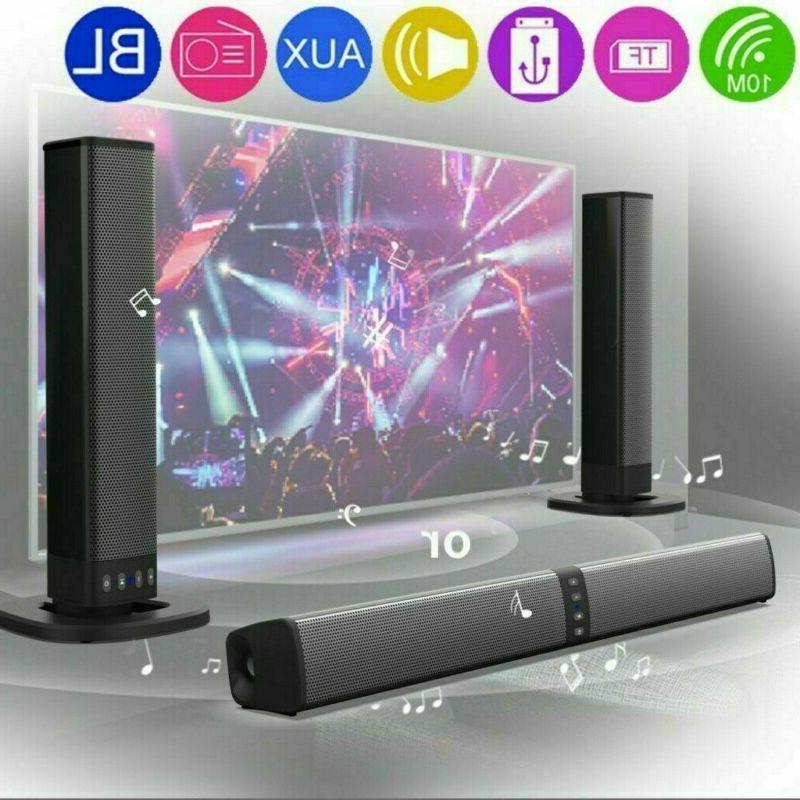 portable surround sound bar 4 speaker system