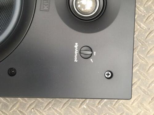 Klipsch Speakers Wall With cener sound