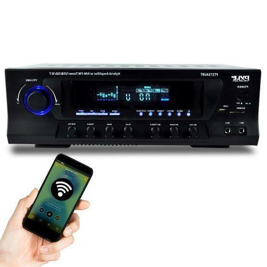 Pyle 300 Watt Stereo Receiver AM-FM