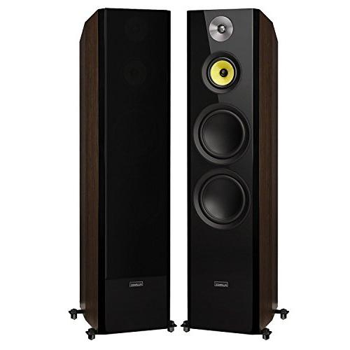 Fluance Series Sound Home Theater Channel Three-Way Towers, Channel, and -