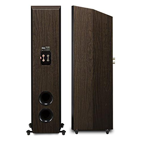 Fluance Signature Sound Channel Speaker Three-Way Floorstanding Towers, Center Channel, Bipolar -