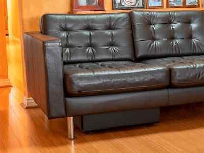 Monoprice 100 Powered Slim Inch Subwoofer - Black