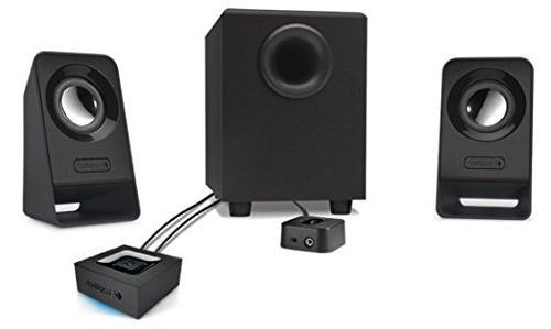 Logitech Multimedia 2.1 Z213 for PC Mobile Speaker Set Black