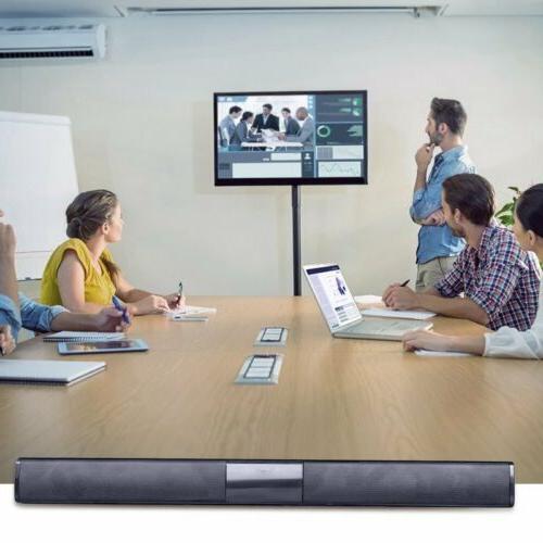 Surround Sound Speaker Wireless BT Subwoofer TV Home Theater&Remote