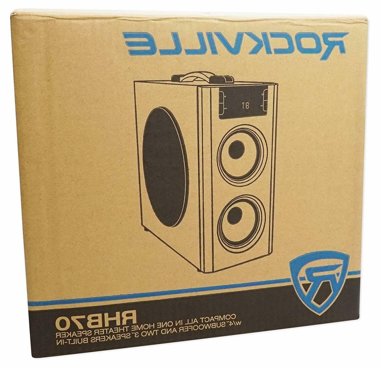 Surround Sound Loud Theater Bluetooth/USB/FM Rockville Best