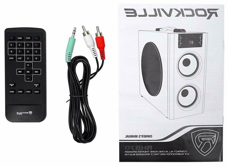 Surround Loud Home Bluetooth/USB/FM Rockville Best