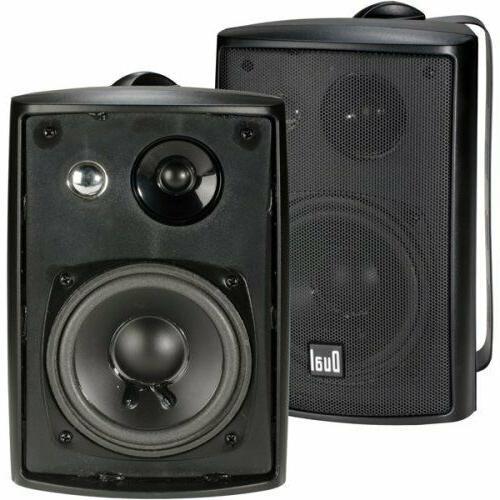 surround sound stereo 2x wall mount speaker