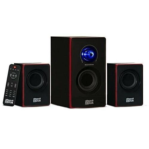 Surround System Computer Speakers PC Wireless Home Bluetooth