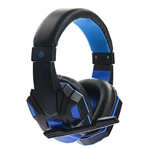 surround stereo gaming headset headband