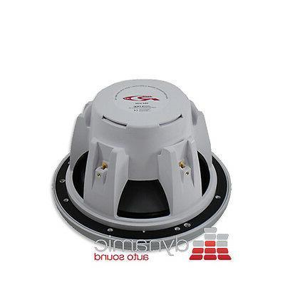 "ALPINE® SWR-M100 10"" Single 4 Ohm Type-R Series Audio Sub"