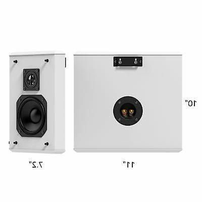 Fluance Home Theater Bipolar Surround Sound Speakers