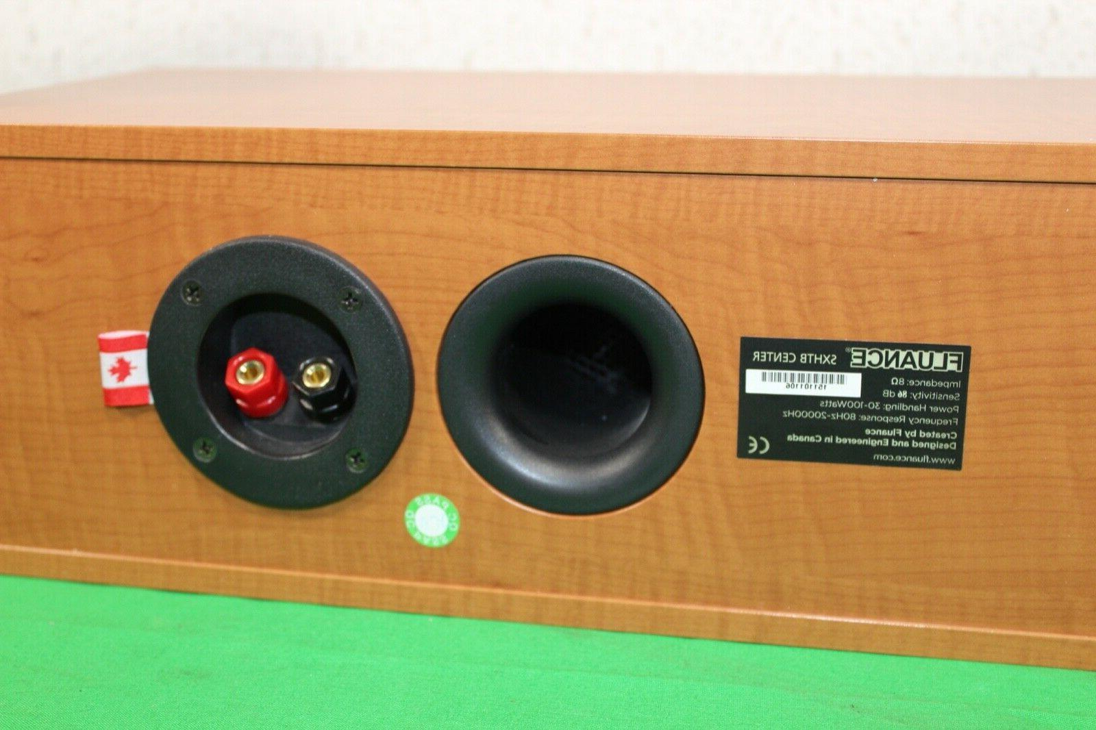 Fluance High Center & Sound Speakers