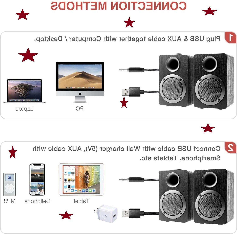 USB-Powered Computer PB20i 2.0CH Surround Sound