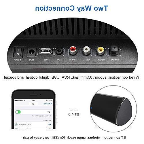 Wohome S9920 Soundbar, Sound Bar Wireless Bluetooth and Wired Speaker System