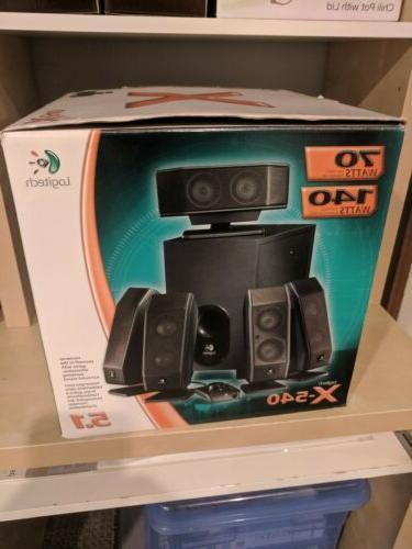 x 540 5 1 surround sound speakers