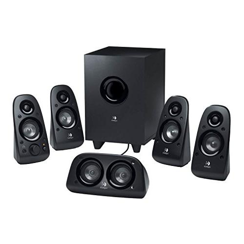 Logitech Z506 6-Piece Channel Sound Speaker System,