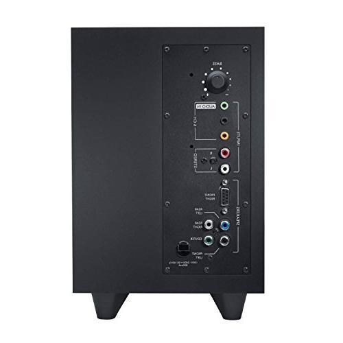 Logitech Z506 6-Piece 5.1 Channel Sound System, Black