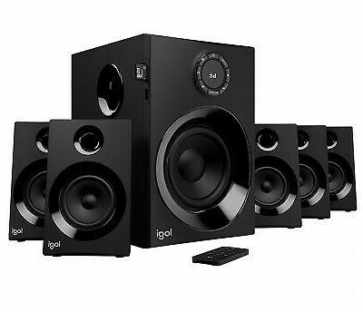 z607 5 1 surround sound speaker system