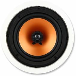 Micca M-8C 8 Inch 2-Way In-Ceiling In-Wall Speaker with Pivo
