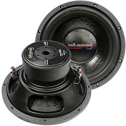 12 Inch 600 Watt Max 4 Ohm DVC Woofer Replacement Car Bass W