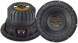 Lanzar 8in Car Subwoofer Speaker - Black Non-Pressed Paper C