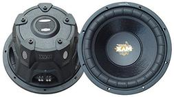 Lanzar 15in Car Subwoofer Speaker - Black Non-Pressed Paper