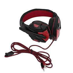 YIGEYI Cimva 3.5mm Surround Stereo Gaming Headset Headband H