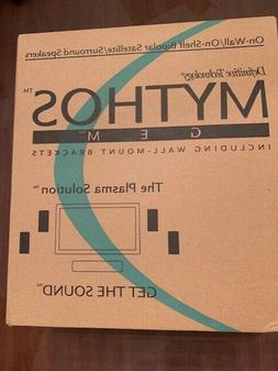 Definitive Technology Mythos Gem On Wall/On-Shelf Surround S