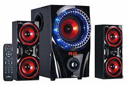 NEW SOUND 2.1 CHANNEL SURROUND SOUND BLUETOOTH USB/SD/SPEAKE