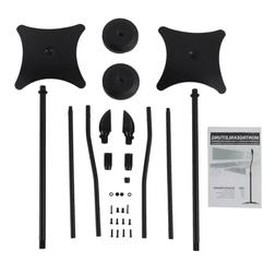 NEW UNIVERSAL SURROUND SOUND SPEAKER STANDS SET OF 2 SATELLI