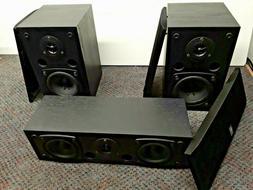 YAMAHA NS-AP2800BLF/BLC SURROUND SOUND 2.1 FRONT SPEAKERS+CE
