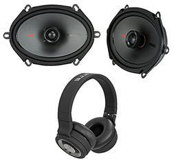 """Pair Kicker 44KSC6804 KSC680 6x8"""" 300 Watt 2-Way Car Speaker"""