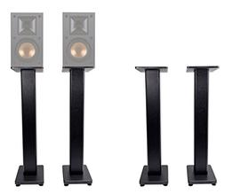 "Pair 36"" Bookshelf Speaker Stands Klipsch R-14M Bookshelf Sp"