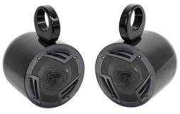 "Pair Jeep Wrangler Rockville 6.5"" 750w 3-Way Car Audio Rollb"